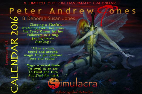 Peter Andrew Jones Science Fiction Fantasy Artist Deborah Susan Jones Writer Blog