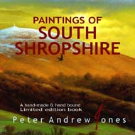 Peter Andrew Jones Paintings of South Shropshire Book